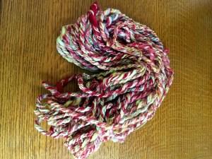 Yarn on Wood