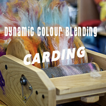 Dynamic Colour Blending: Carding