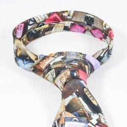 Detalle de corbata de seda