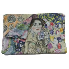 Klimt écharpe en soie Ria Munk