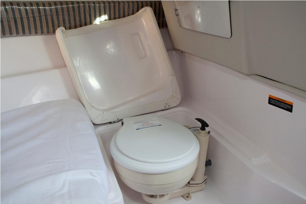 Banheiros  bordo  Como descartar guardar ou trajar os