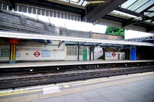 London Tube ©photo by t. stockton