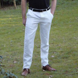 """Men's trousers """"Ajit"""" - 100% linen"""