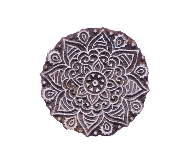 Blockprint Mandala 2