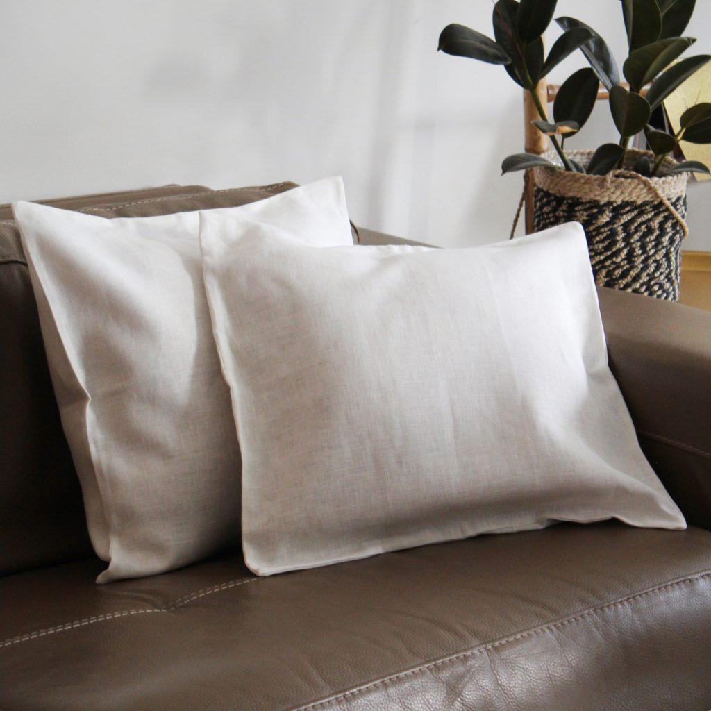 Cushion cover 100% linen