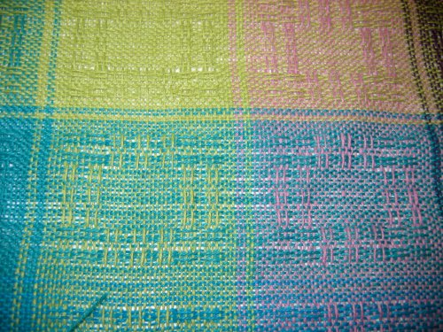 Off the loom, unwashed