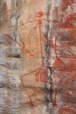 Mabuyu, Ubirr Rock Kakadu