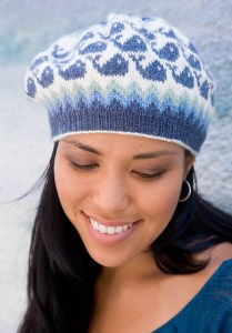 Whale Watch Hat from New England Knits. Photo copyright Interweave.