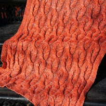 Kinderhook Blanket by local designer Tanis Gray