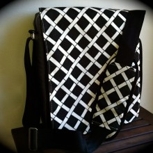 The Messenger comes in four patterns and is $96