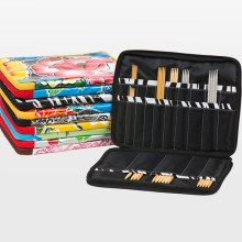 Chic-a double pointed needle case