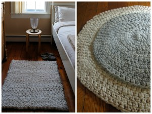 Purl Bee Big Stitch Knit and Crochet Rugs