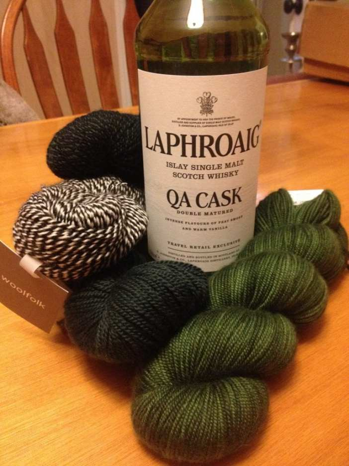 Laphoaig QA Cask and the colors it inspired