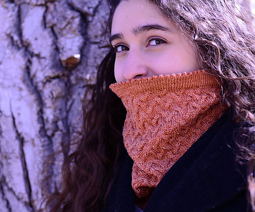 Shadow Play Cowl by Gretchen Johnson and Amy Stanton (Image © Crave Yarn)