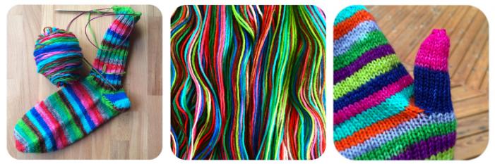 Julia Vesper has a vibrant Instagram account! / © Knitterly Things