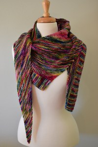Weight It Shawl 4 by Susan B Anderson