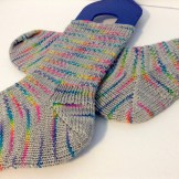 On the Dotted Line socks