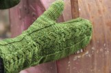 Artichoke French Mittens, © Nelkin Designs