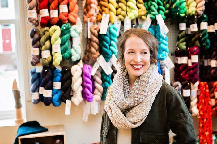 Danielle Romanetti of fibre space