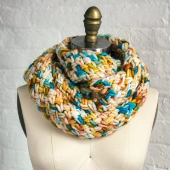 Golden Touch Cowl