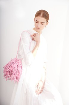 Fringe Bag in Loopy Mango Big Cotton