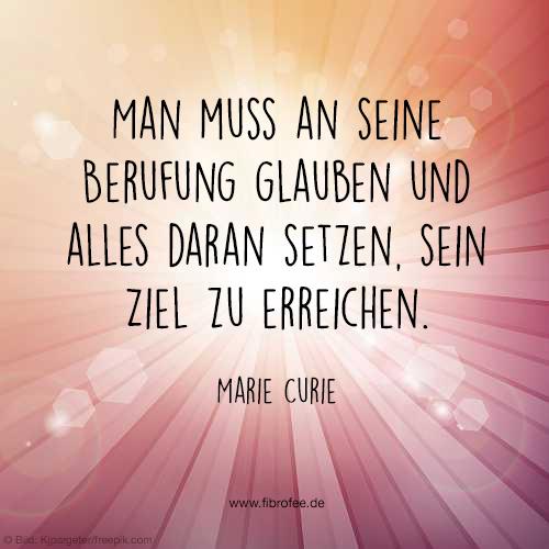 Berufung - Marie Curie