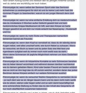 Teil 6c - Facebook-Beitrag Frau X