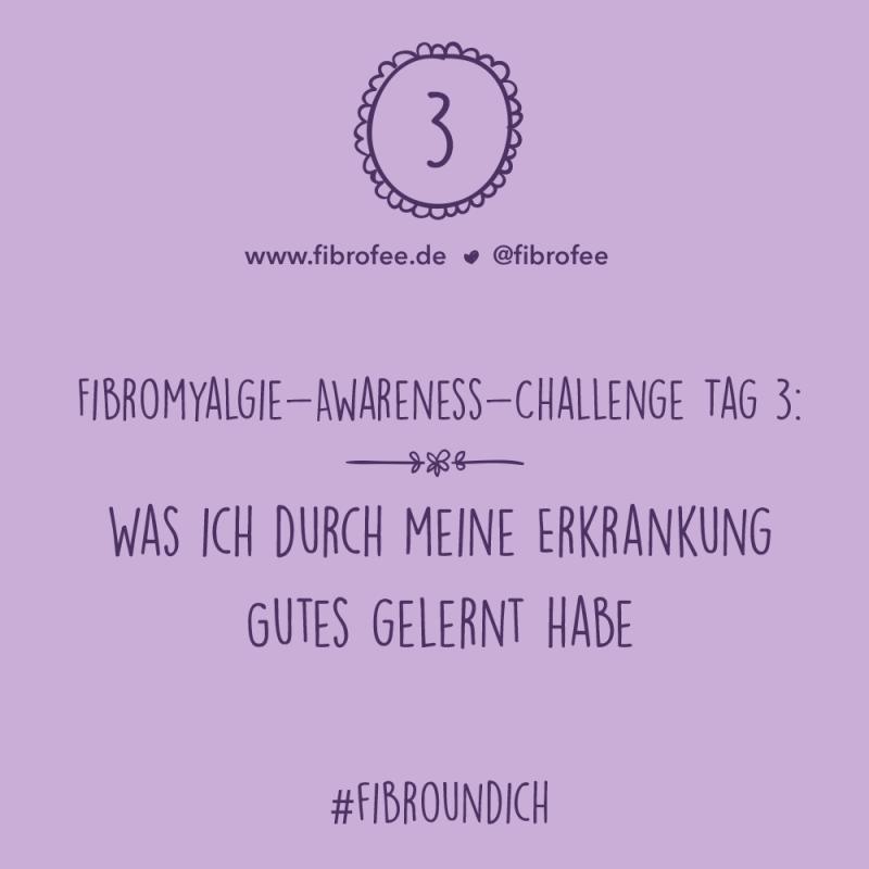 Fibromyalgie Challenge Tag 3