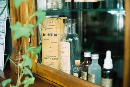 assorted type bottles lot