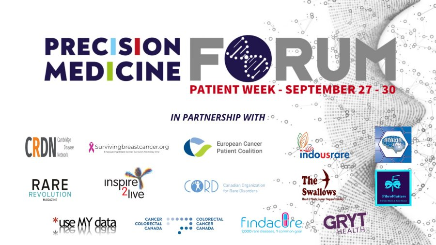 Precision Medicine Forum - Patient Week event banner with link to event page