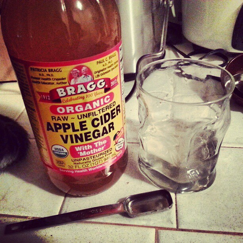 fibroids and apple cider vinegar  will this work to