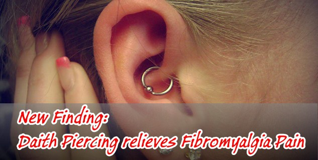 Image result for Daith Piercing & Fibromyalgia – Does it Help Migraine Pain?