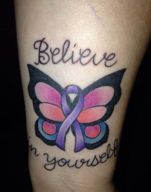 Beautiful Tattoos That Spread Fibromyalgia Awareness