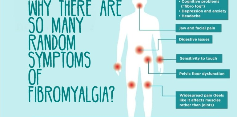 different symptoms of fibromyalgia