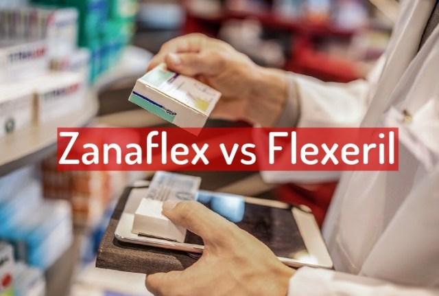Zanaflex vs Flexeril