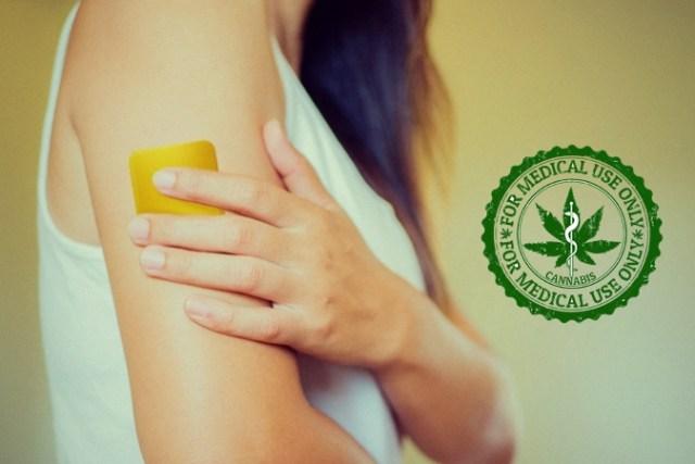 Medical Marijuana Skin Patch