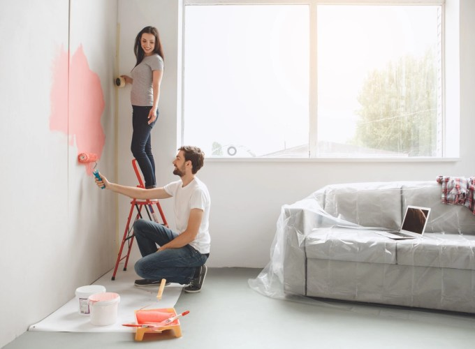 painting to help rent or sell your place