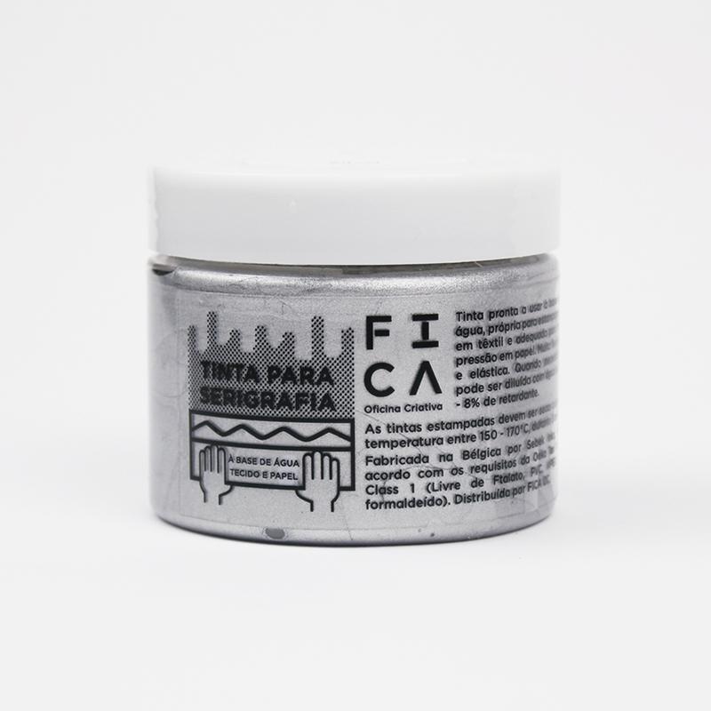 Tintas à base de água para serigrafia - Sparkling Silver
