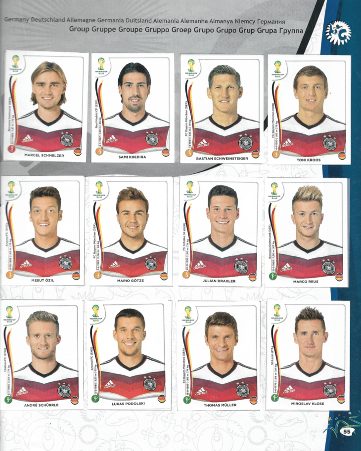 Alemania Mundial Brasil 2014