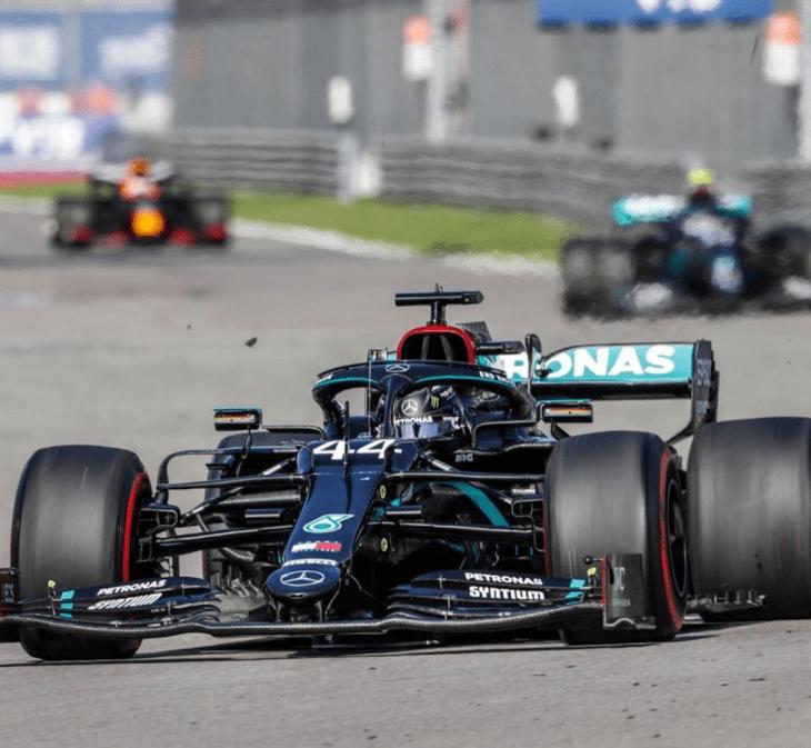 Hamilton Gran Premio de Rusia 2020