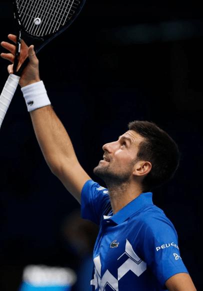 Djokovic Finales ATP 2020: Día 6