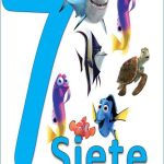 Carteles de los números para niños 7