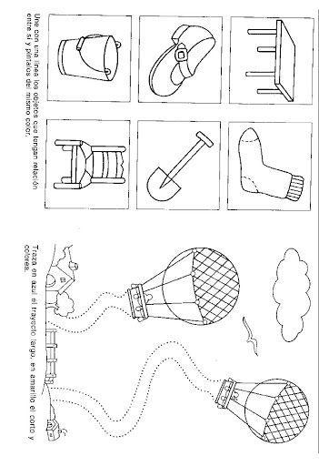 fichas de caligrafía para niños de 4 años
