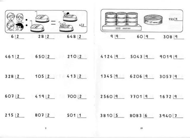 Divisiones por una cifra