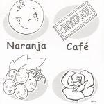 vocabulario colores para niños