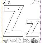 caligrafía letra z