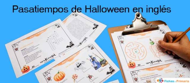 pasatiempos de halloween en inglés