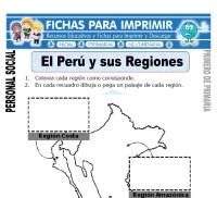 El Per y sus Regiones para Primero de Primaria - Fichas ...
