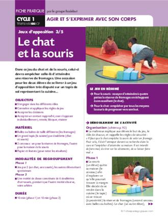 Le Jeu Du Chat Et De La Souris : souris, D'opposition, Souris, FichesPédagogiques.com