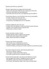 Les Z'amours 340 Questions Pdf : z'amours, questions, Exemple, Questionnaire, Amours